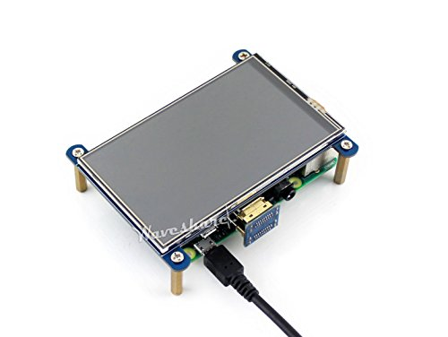 Waveshare 4inch HDMI LCD Resistive Touch Screen 800x480 High Resolution HDMI interface IPS Screen Designed for Raspberry Pi 3 B/2B/B +/B by Waveshare -LCD (Image #4)
