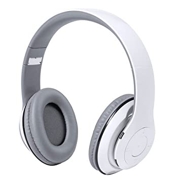 Auriculares Inalambricos Bluetooth. Recargable USB BLANCO