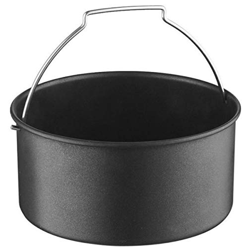 Emeril HF-8018GY 3.75-qt Rapid Air Fryer w/2-in-1 Basket & Accessories-Black A-FT42724BK