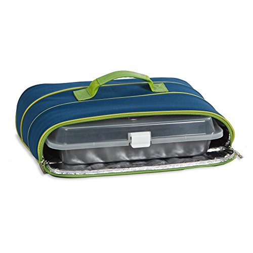 Casserole Carrier With Thermal Foil Lining By Picnic Plus