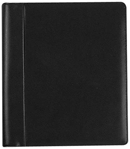 Levenger Circa Pro Folio Junior Notebook, Black (AL12645 BK LTR NM) by Levenger