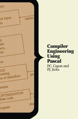 Compiler Engineering Using Pascal (Macmillan Computer Series)