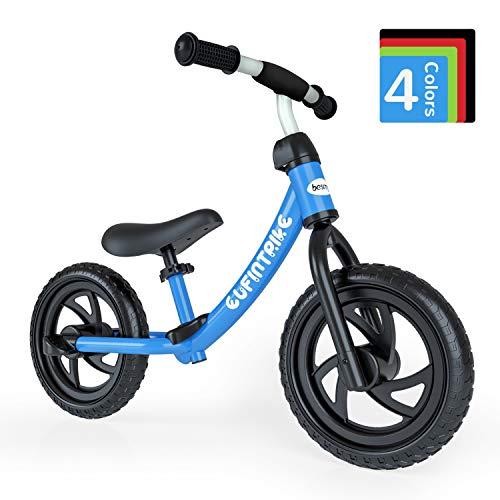 🥇 besrey Bicicleta sin Pedales para niño Bicicletas sin Pedales de 3-5 años