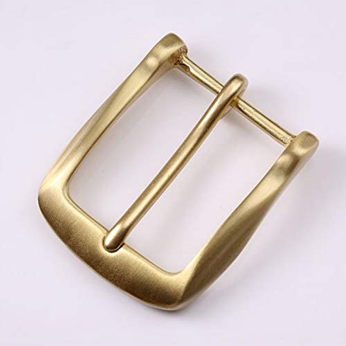 Buckes - 40mm Copper Free Single Prong Solid Brass Horseshoe Belt Buckle DIY Leathercraft Metal Accessories 404 - (Size: 40mm)