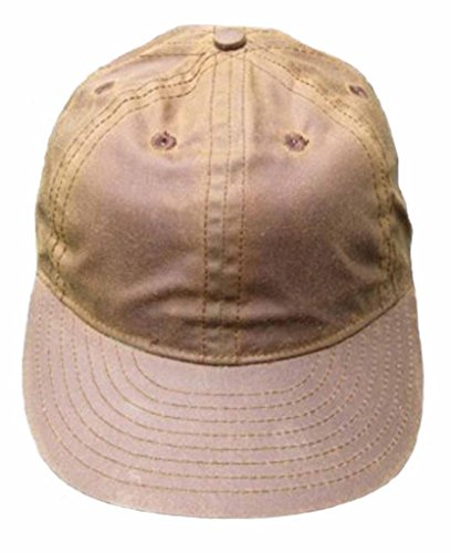 Ideal Cap Co. Brown Waxed Cotton Vintage Baseball Cap 1940's Style 8 Brown (Ideal Cap Company compare prices)