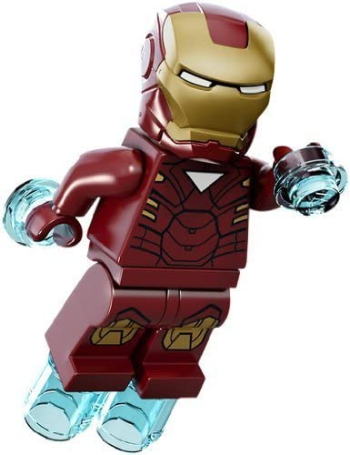 LEGO Minifigure - Marvel Super Heroes - IRON MAN with Jet Repulsors (Mark 6)