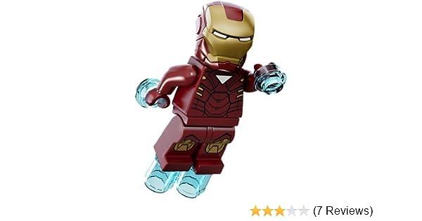 LEGO Minifigure - Marvel Super Heroes - IRON MAN with Jet Repulsors (Mark 6)