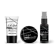 LA Girl PRO HD Translucent Powder, Primer & Setting Spray SET by LA Girl