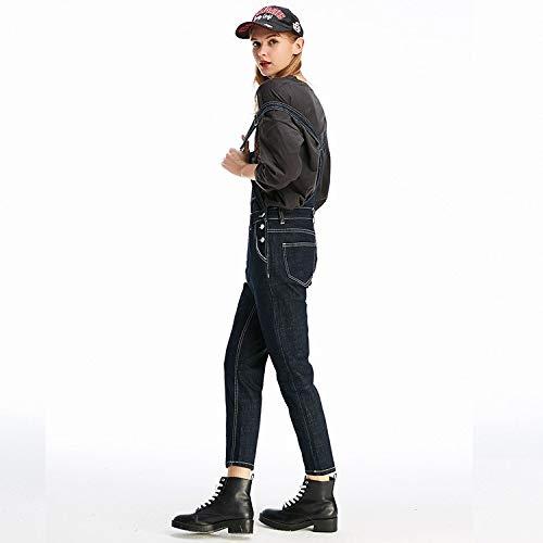 Neuer Femme hohe Taille Frauen Jeans Lose Punkte MVGUIHZPO L neun Stil Taille Jeans q1axtnn5w