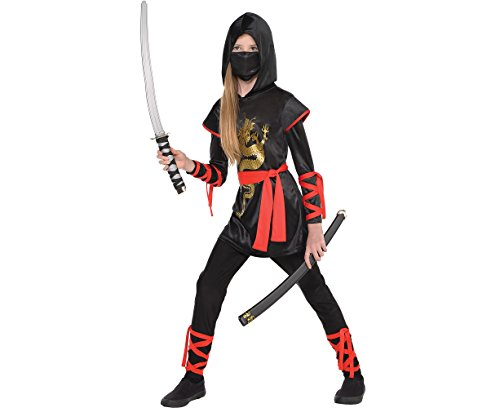 Amscan Girls Ultimate Ninja Costume - X-Large