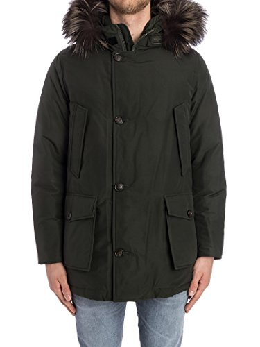 Poliestere Uomo Giacca Wocps2570cn01rsg Woolrich Verde qaBZWw
