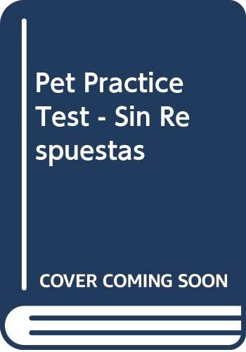 Richmond Pet Practice Tests Without Answers por Susan Mcgeary