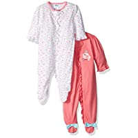 Gerber Baby-Girls Zip Front Sleep N Play
