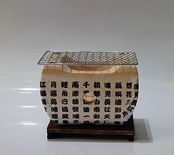 Mesa de cerámica horno barbacoa Grill carbón vegetal parrilla de carbón de barbacoa Estufa Horno al aire libre: Amazon.es: Bricolaje y herramientas