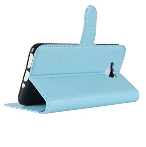 Funda Libro para BQ Aquaris U2 Lite, Manyip Suave PU Leather Cuero Con Flip Cover, Cierre Magnético, Función de Soporte,Billetera Case con Tapa para Tarjetas G