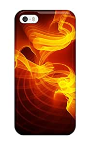 Tpu Case Cover Compatible For Iphone 5/5s/ Hot Case/ Orange