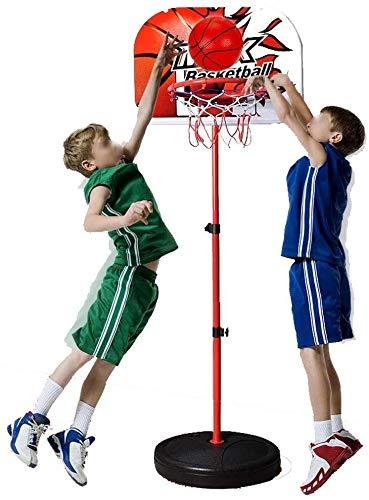 Baloncesto- 160cm Ajustable Baloncesto Tablero de Soporte del aro ...