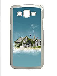 Samsung 2 7106 Case Sky Clouds House PC Samsung 2 7106 Case Cover Transparent