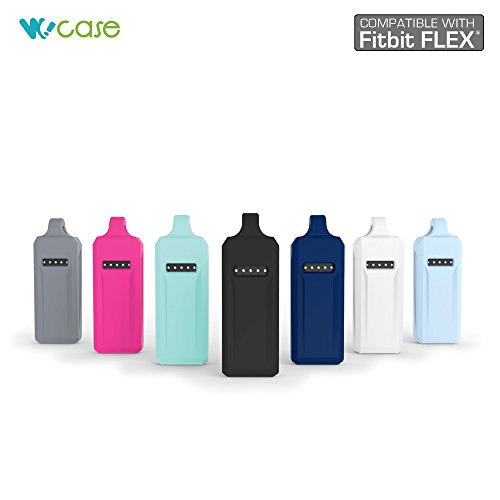 WoCase Pendant Necklace (Classic Style) for Fitbit Flex (Best Gift for Fitbit Flex User) Activity and Sleep Tracker Wristband Band Bracelet (One Size, Fits Most Wrist)