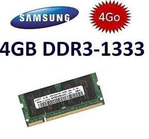 Samsung M471B5273CH0-CH9 - Memoria de 4 GB PC3-10600 DDR3 (SO-DIMM, 204 pines, 1333 MHz)
