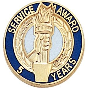 25 years of service pin - 6