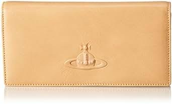 Vivienne Westwood Chelsea 32-509 Zipper Wallet,Beige/Beige,One Size
