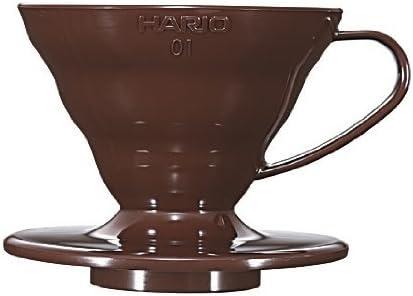 Hario V60 Ceramic Coffee Dripper White Size 01