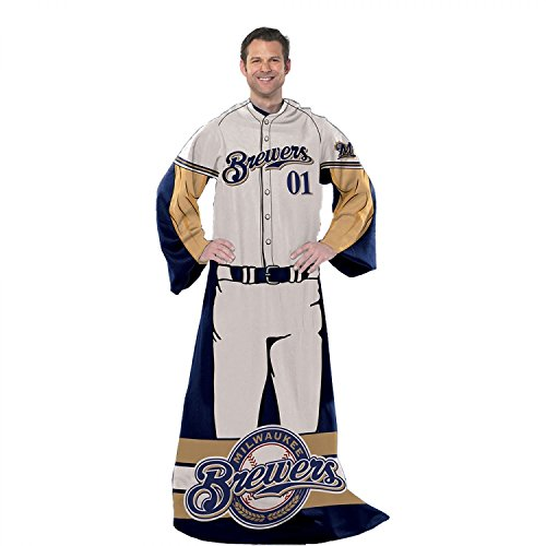 - The Northwest Company MLB Fleece Comfy Throw MLB Team: Milwaukee Brewers
