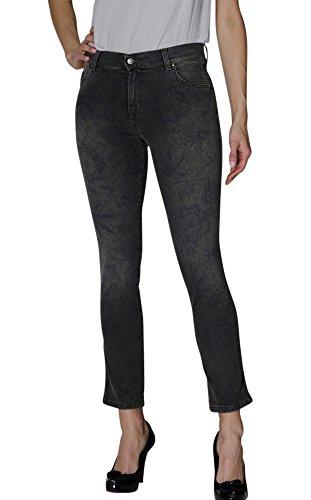 Jeans Cotone Noir Stretch Brebis up Stampato Jacqueline 23463 8 qtw1z