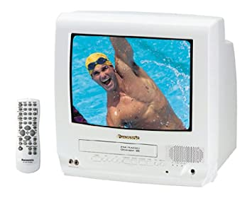 amazon com panasonic pv c1331w 13 inch tv vcr combo white rh amazon com Panasonic Plasma TV Schematics Sanyo 42 Inch Plasma TV