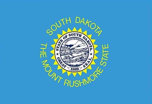 Valley Forge, Dakota State Flag, Nylon, 3' x 5', 100% Made i