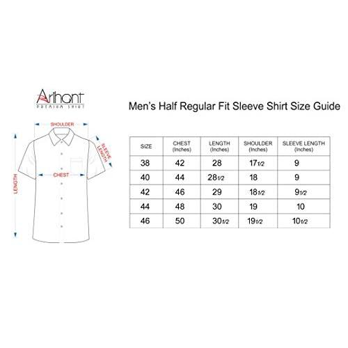 41T9Ncvc1 L. SS500  - Arihant Men's Cotton Formal Shirt
