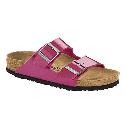 Birkenstock Women's Arizona Electric Metallic Magenta 41 N