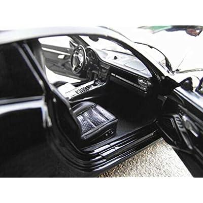 Model Car Sport Scale 1:24 Porsche 911 Carrera S Alloy Sports Car Model Boys Toys Display Black: Toys & Games