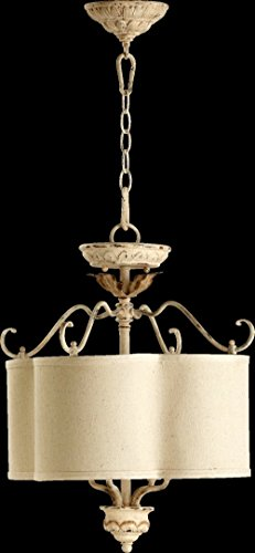 Quorum Salento 4-Light 18″ Wide Persian White Chandelier