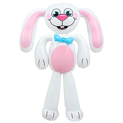 (Jumbo-Sized Inflatable Bunny - 1-Pc 61