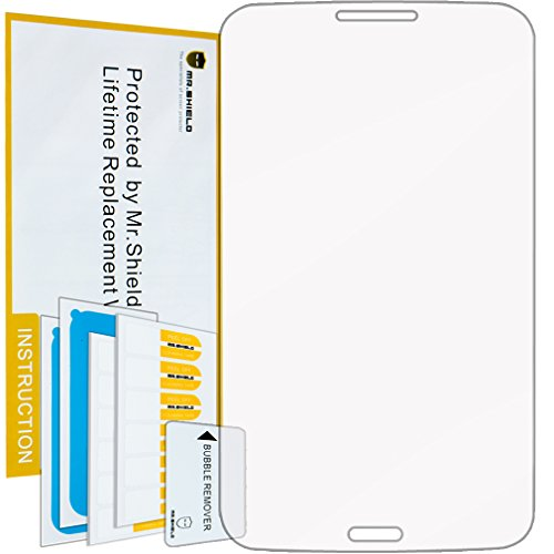 Mr Shield For Samsung Galaxy Tab 3 8.0 8 Inch [Tempered Glass] Screen Protector [0.3mm Ultra Thin 9H Hardness] with Lifetime Replacement Warranty…