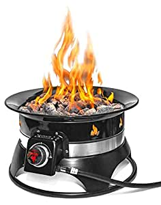 Amazon.com : Outland Firebowl 870 Premium Outdoor Portable ... on Outland Gas Fire Pit id=49186