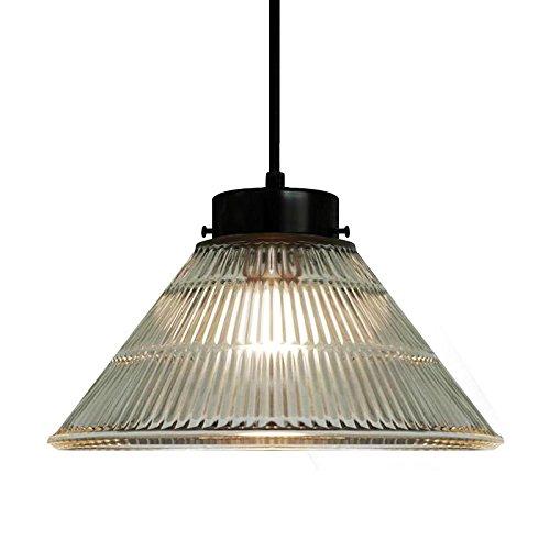 HXDZL Illuminazione pensili pendente in vetro luce 25*16cm ...