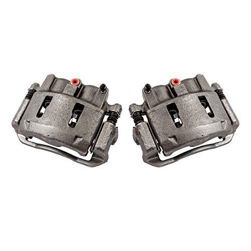 CKOE01555 [ 2 ] FRONT Premium Grade OE Semi-Loaded Caliper Assembly Pair (Ford Ranger Brake Caliper)