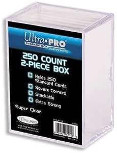 UltraPro 81148 - Caja para cartas 250 cartas coleccionables (2 ...