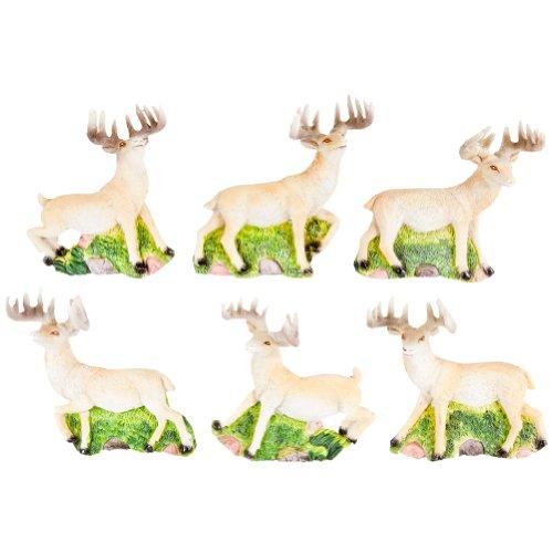 Hunter And Bambi Costume (Animal World - Deer Buck Running Six Piece Magnet Set)