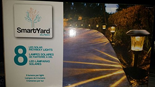 Smartyard Solar Led 13 8 Quot H Pathway Lights 8 Pack 6