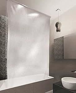 Estor de ducha peva 160 x 240 cm dise o de gotas - Estor para ducha ...