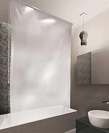 Duschrollo Ikea estor de ducha peva 160 x 240 cm diseño de gotas amazon es hogar