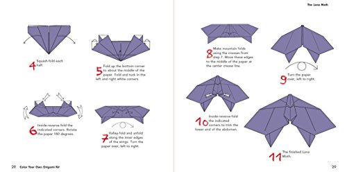 Color Your Own Origami Kit: Creative, Colorful, Relaxing