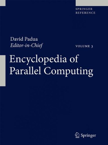 Encyclopedia of Parallel Computing by Springer
