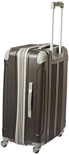 """Beverly Hills Country Club Newport 3-Piece Hardside Spinner Luggage Set, Gray (21""""/24""""/28"""")"""