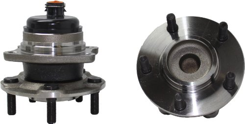 Brand New (Both) Rear Wheel Hub and Bearing Assembly fits Caravan, Grand Caravan (FWD), Town & Country (FWD) 5 Lug W/ABS (Pair) 512169 x2