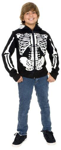 Boys Skeleton Sweatshirt Hoodie - Small